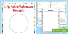 Llyfryn Gwybodaeth/Pontio i Fy Athro/Athrawes Newydd