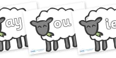 Phase 5 Phonemes on Sheep