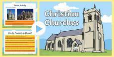 KS1 Christian Churches PowerPoint