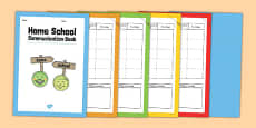 Home School Communication Book Primary