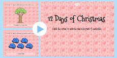 Australia - Australian 12 Days of Christmas PowerPoint