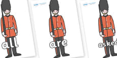 Tricky Words on Royal Guards