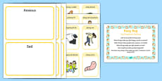 My Emotions Sorting Busy Bag Prompt Card and Resource Pack