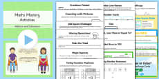 Year 2 Maths Mastery Addition and Subtraction Lesson Teaching Pack