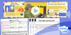 PlanIt - Science Year 6 - Light Lesson 1: How We See Lesson Pack