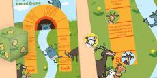 Billy Goats Gruff Board Game