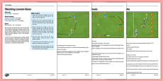 LKS2 Football Skills 3: Shooting Lesson Pack