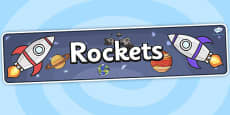 Rockets Topic Display Banner
