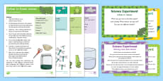 * NEW * EYFS Jungle and Rainforest Science Experiments Resource Pack