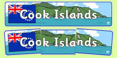 Cook Islands Display Banner