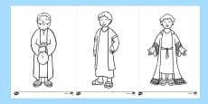 The Prodigal Son Story Colouring Sheets