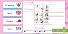 Valentine's Day 'Write the Room' Activity