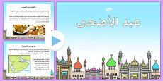 Eid Al-Adha PowerPoint Arabic