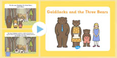 Goldilocks and the Three Bears Story PowerPoint