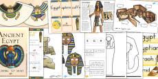 Australia - Ancient Egypt Lapbook Creation Pack