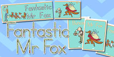Australia Display Pack to Support Teaching on Fantastic Mr Fox