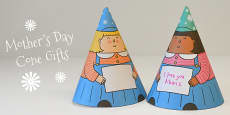 Mother's Day Cone Girl Gift