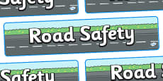 Road Safety Display Banner