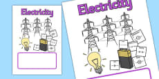 Electricity Topic Book Cover