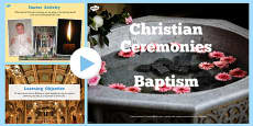 Christian Baptism Lesson Teaching Pack