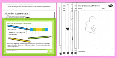 Ks1 Symmetry Activity Resource Pack