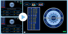Who Wants to be a Millionaire Adaptable PowerPoint Template