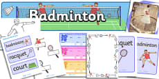 The Olympics Badminton Resource Pack