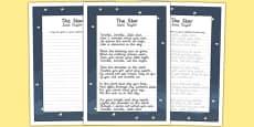 The Star KS2 Handwriting Practice
