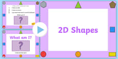 What Am I? 2D Shape Properties PowerPoint