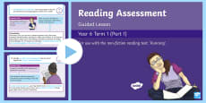 Year 6 Reading Assessment Non Fiction Term 1 Guided Lesson PowerPoint