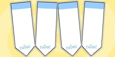 AF3 Guided Reading Editable Bookmarks