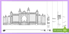 * NEW * Emirati Themed Colouring Pages
