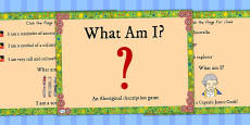 Australia - Aboriginal and Torres Strait Islander People What Am I? PowerPoint