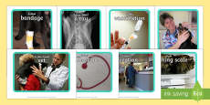Vets Surgery Display Photos  Arabic/English