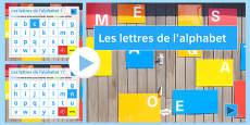French Alphabet Presentation