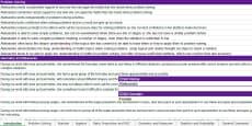 * NEW * Report Writing Bank of Statements KS3/4 Maths Spreadsheet