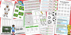 KS1 Football World Cup Maths Activity Pack