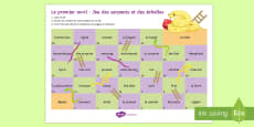 * NEW * April Fools' Snakes and Ladders French
