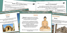 Jainism and Zoroastrianism Lesser Known Religions Lesson Teaching Pack