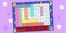 Space Interactive Wordsearch PowerPoint