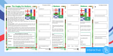 KS2 The Rugby Six Nations Differentiated Comprehension Go Respond Activity Sheets