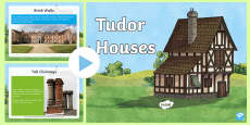* NEW * KS2 Tudor Houses Information PowerPoint