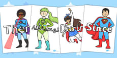 Sentence Starters on Superheroes