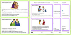 KS3 Types of Friendship Description Cards