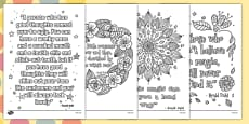 Roald Dahl Quotes Mindfulness Colouring Posters
