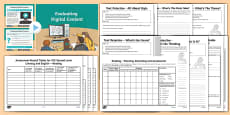 Literacy   Reading CfE Second Level Assessment Pack