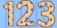 William Wilberforce Themed Display Numbers Display Numbers