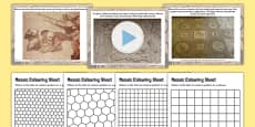 Roman Mosaics Lesson Teaching Pack PowerPoint
