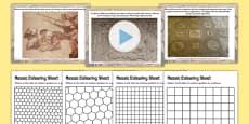 Roman Mosaics Lesson Teaching Pack PowerPoint