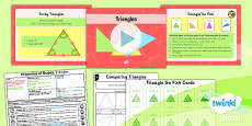 PlanIt Y4 Properties of Shape Lesson Pack Geometric Shapes (1)